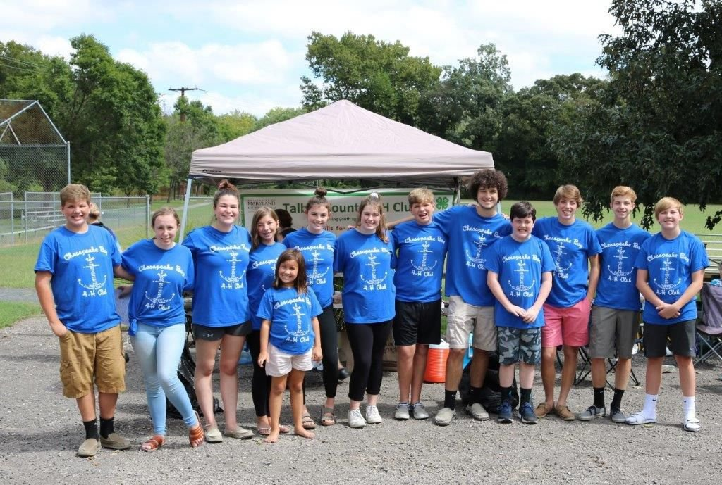 4-H'ers serve, encourage at Clean Rivers ride