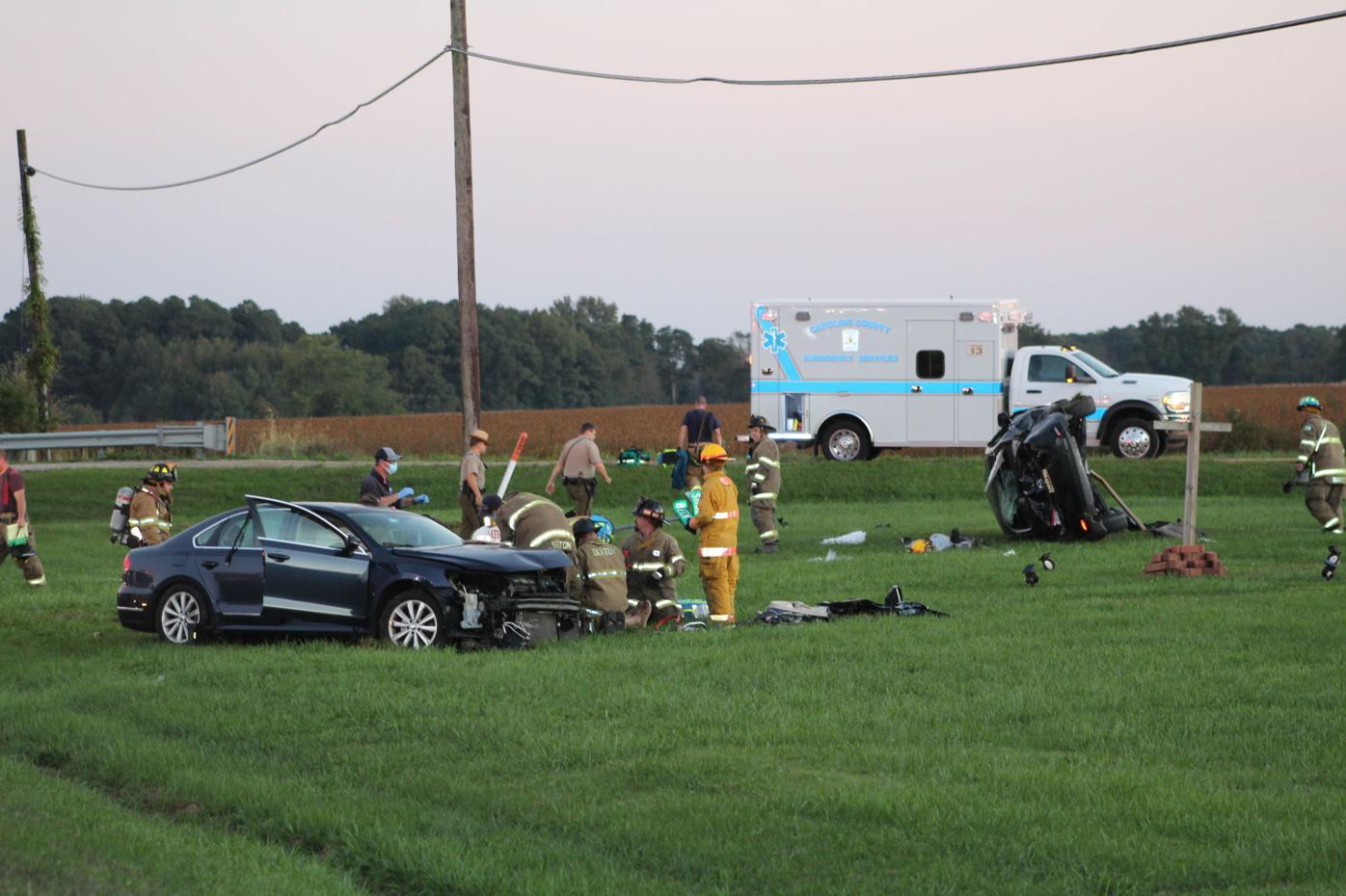 Denton crash sends 3 to hospitals