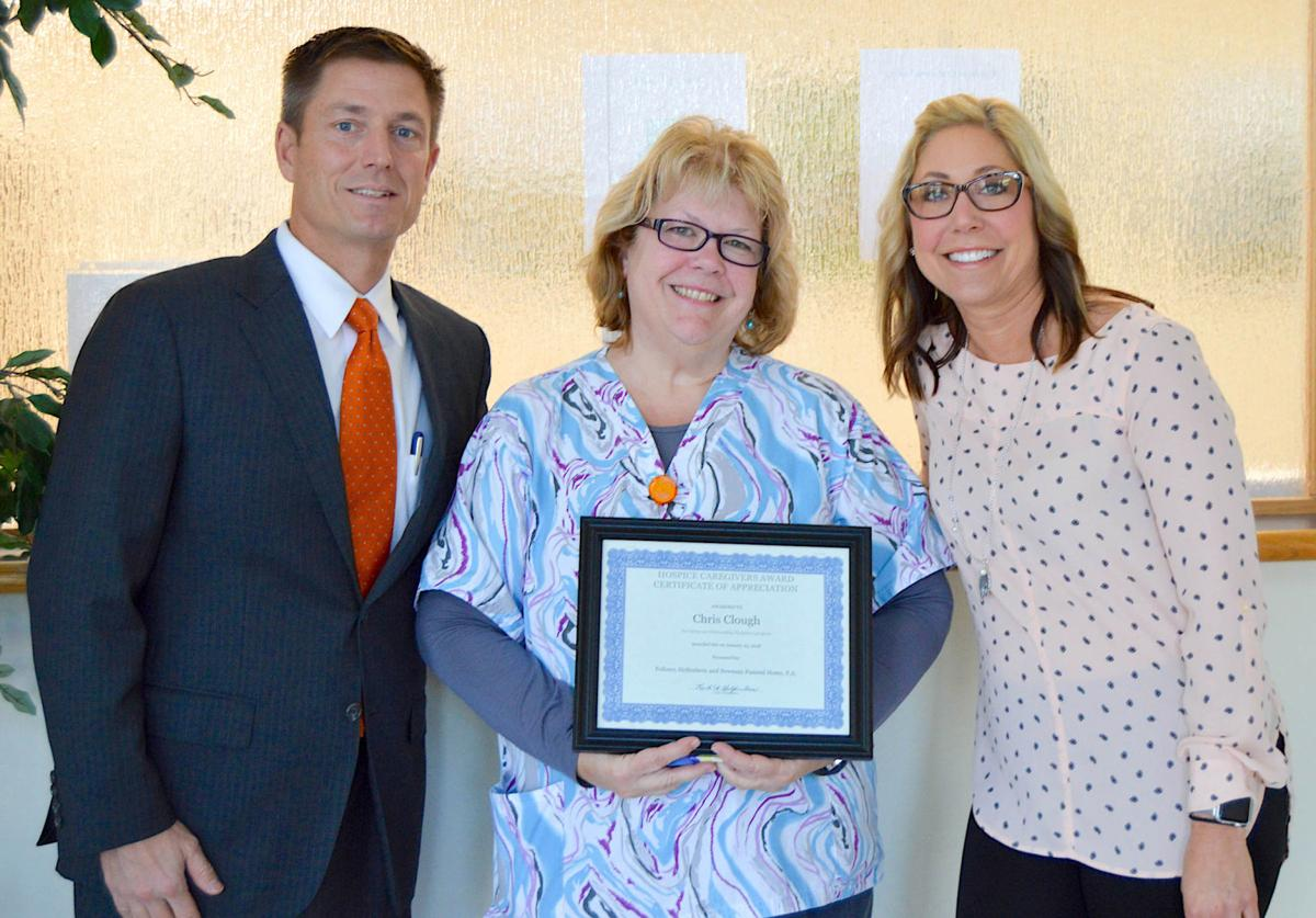 Compass Regional Hospice Nurse Receives Hospice Caregivers Award