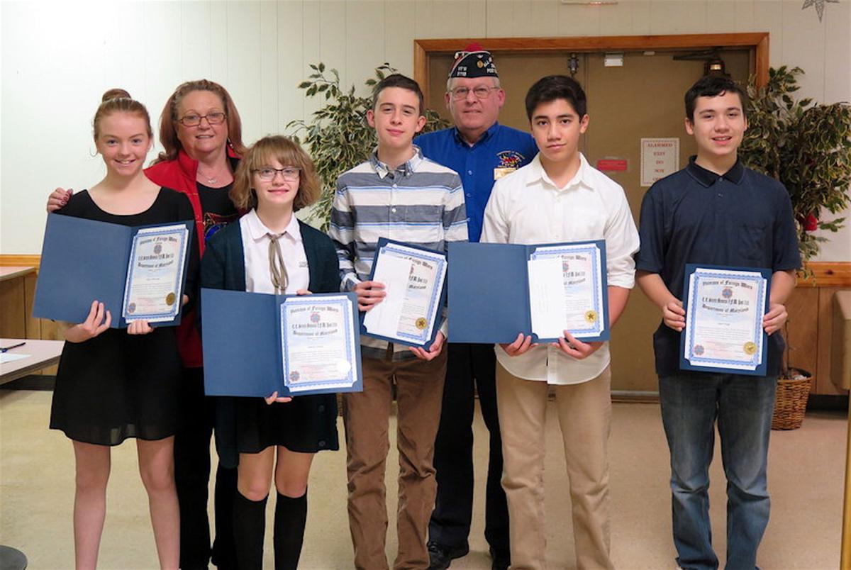 Easton vfw post 5118 announces essay contests winners life