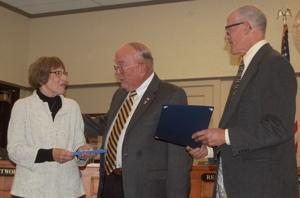 U'Ren honored for volunteerism