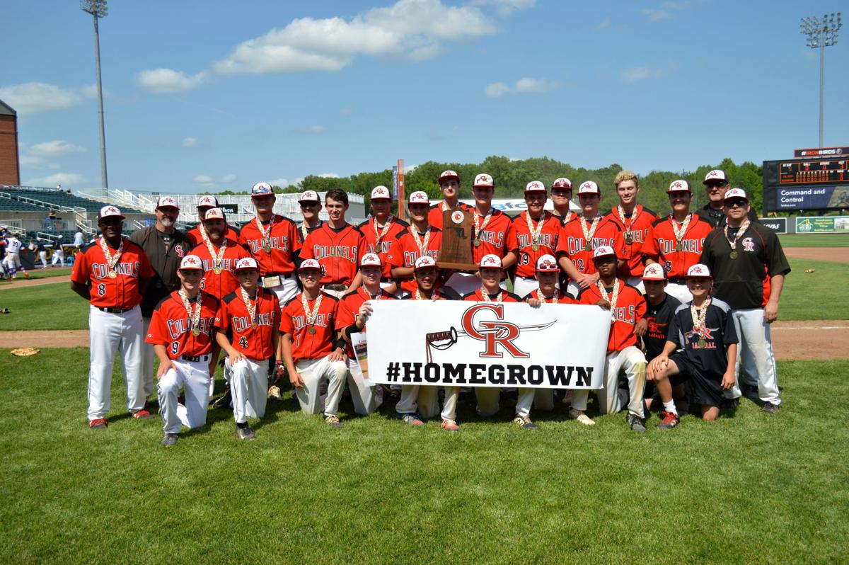 Colonel Richardson High baseball wins the 2019 state championship