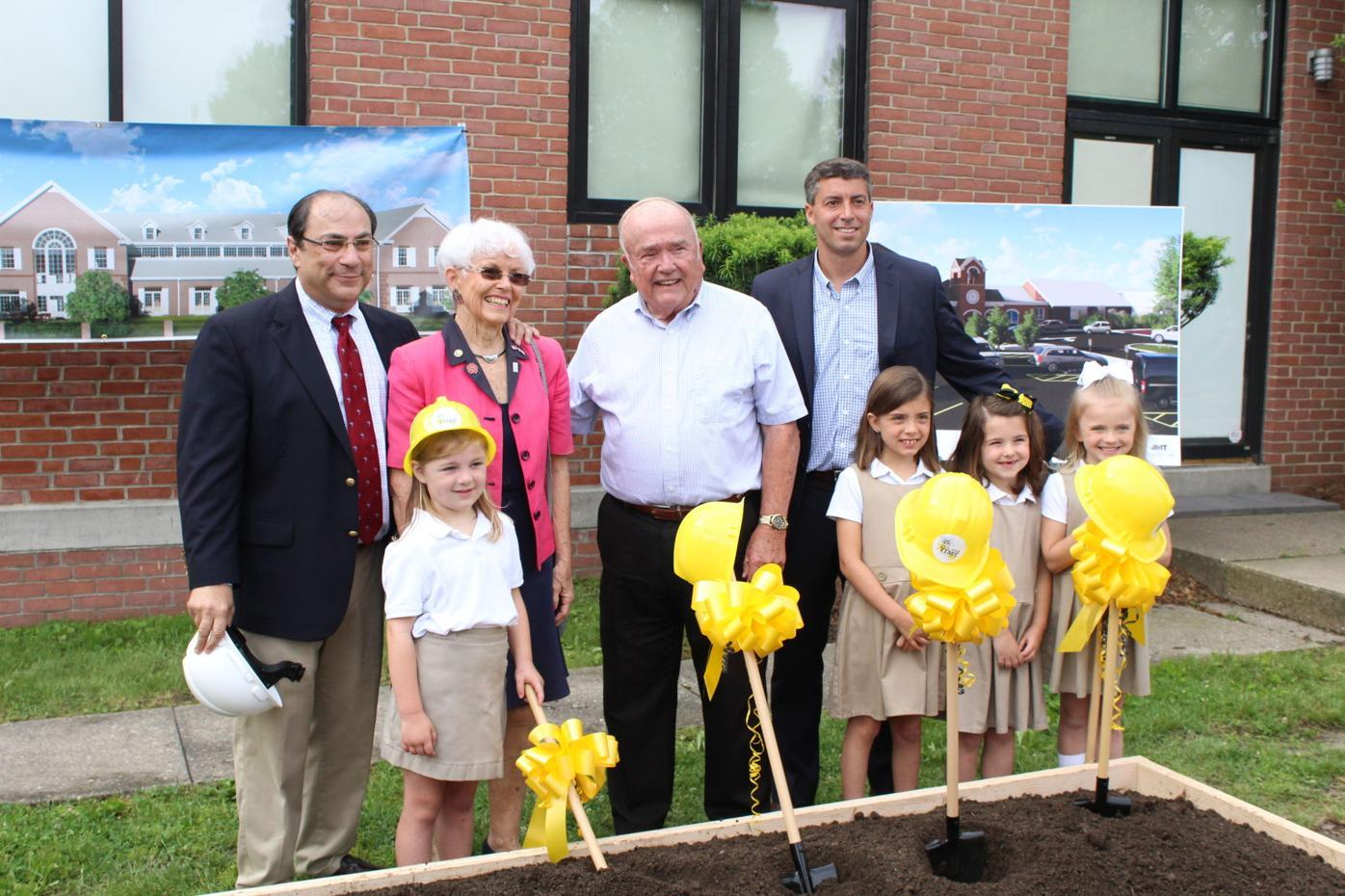Country School breaks ground on new addition