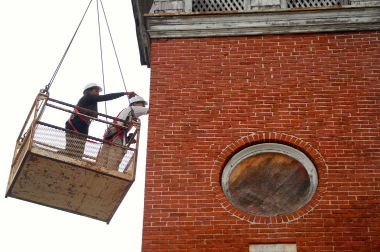 Asbury United Methodist Church restoration kicks off