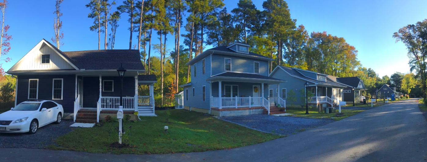 Modular Habitat home delivered in St. Michaels