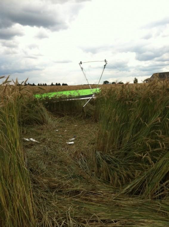 Hang gliders down in Caroline County