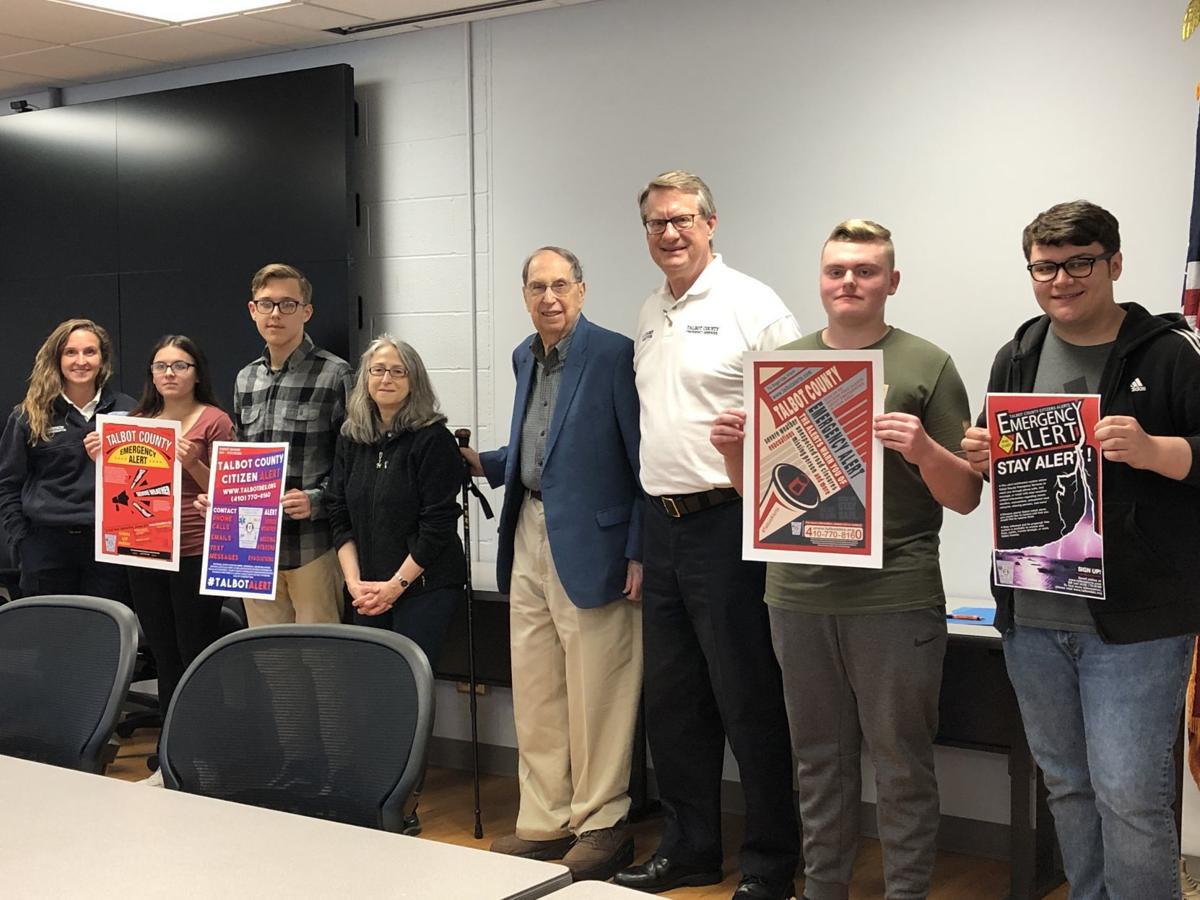 St. Michaels student wins DES poster contest