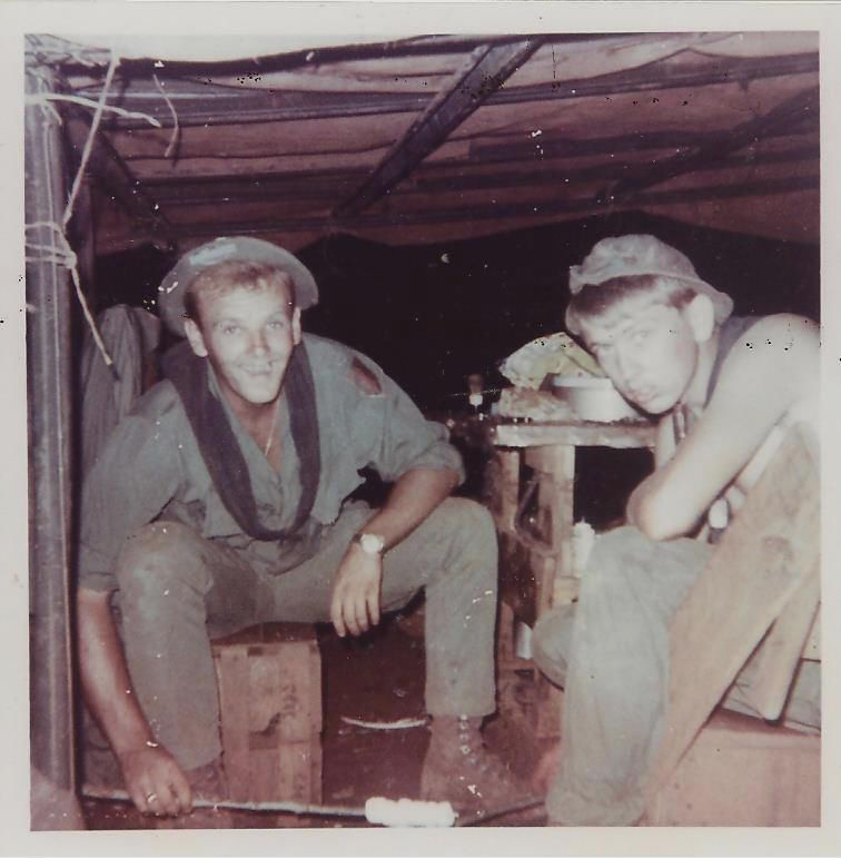 Jack Durst and John C. DeMarr at Sông Bé