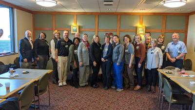 UM SRH recognizes Emergency Department nurse for more than 40 years of service