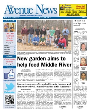 The Avenue News frontpage