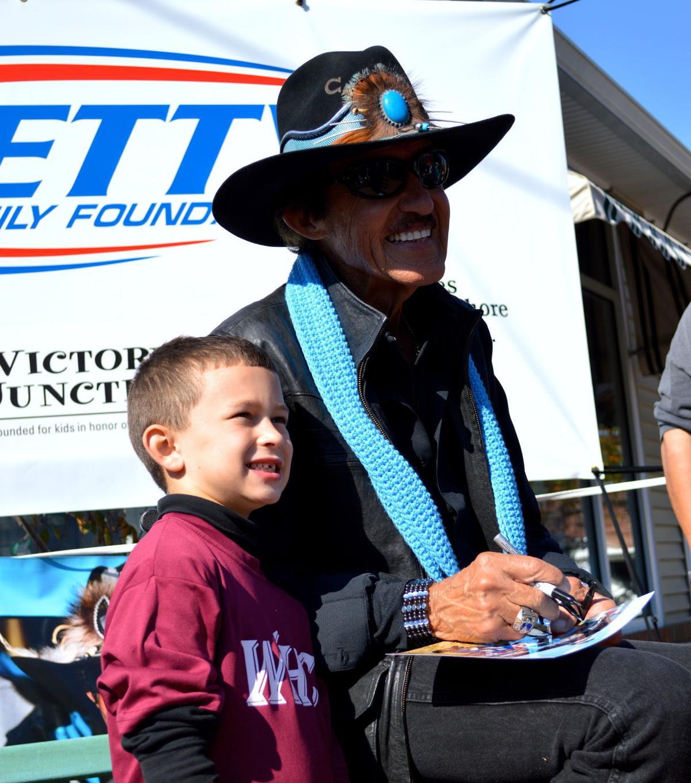 NASCAR Legend Richard Petty Visits Ridgely Car Show