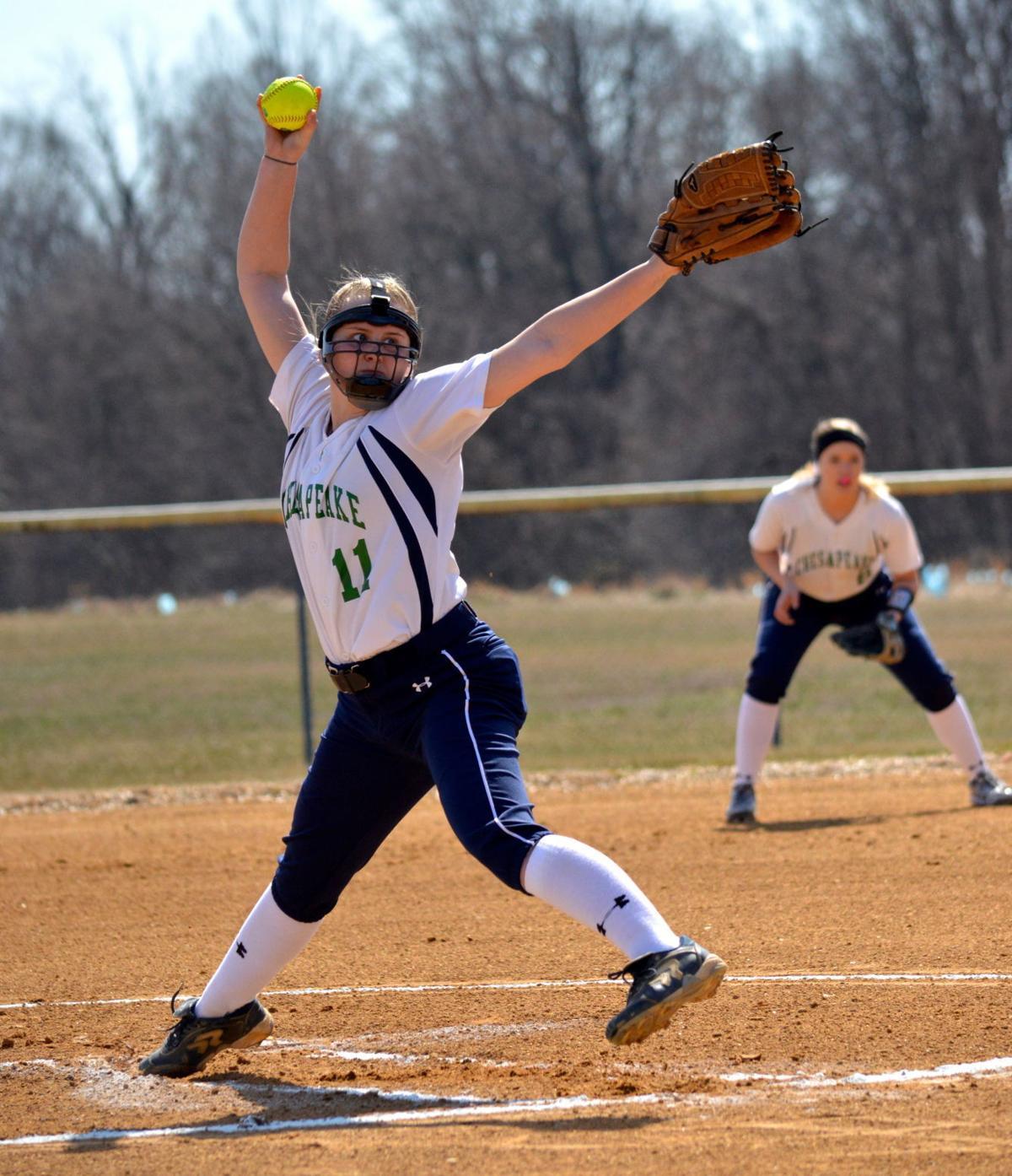 JUCO Softball: Garrett College at Chesapeake College
