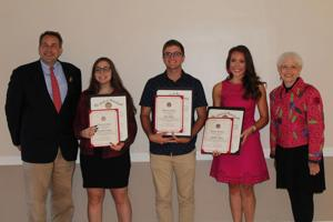 Character Counts honors local students