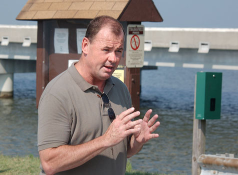 Choptank river fishing piers named in honor of the late for Bill burton fishing pier state park