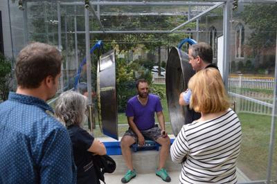 Museum installs interactive sculpture by Aaron Taylor Kuffner