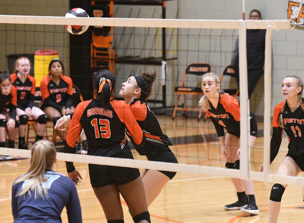 Warriors Cougars volleyball