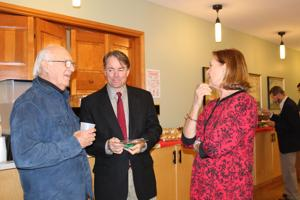 County leaders honored at reception