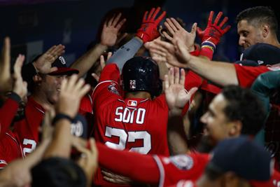 Soto's HR in ninth lifts Nats over Phils