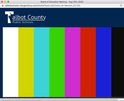 Tech problems prevent public from viewing Talbot school board meeting