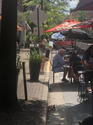 Easton looks to beautify outdoor dining on Washington Street