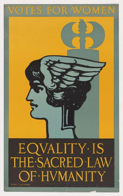 DCA closes the Centennial of Women's Suffrage with Smithsonian poster exhibition