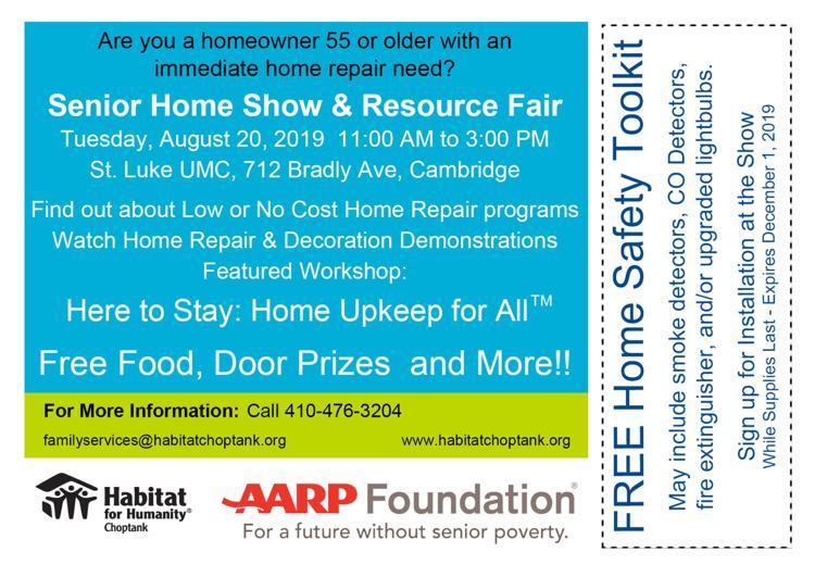 Senior Resource Fair and Home Show