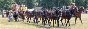 20-Mule Team visits Centreville