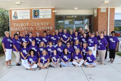 TCPS proud to support Talbot Goes Purple