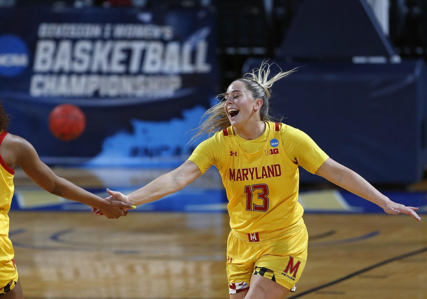CORRECTION NCAA Alabama Maryland Basketball
