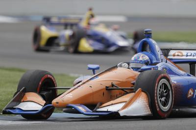 Virus Outbreak Motorsports Auto Racing
