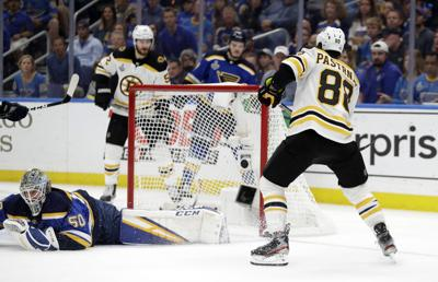 Stanley Cup Bruins Blues Hockey
