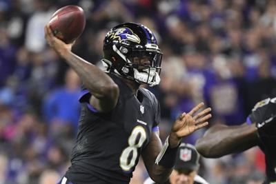 Ravens Jackson Arm Football