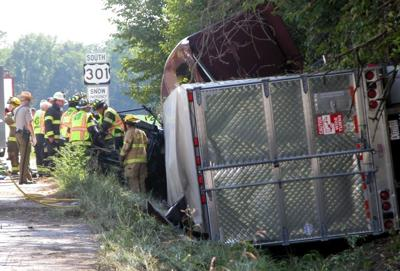 One person dead in accident on U S  Route 301 and Md  Route