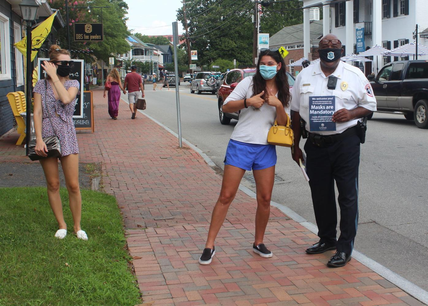 St. Michaels reminds public of mask policy