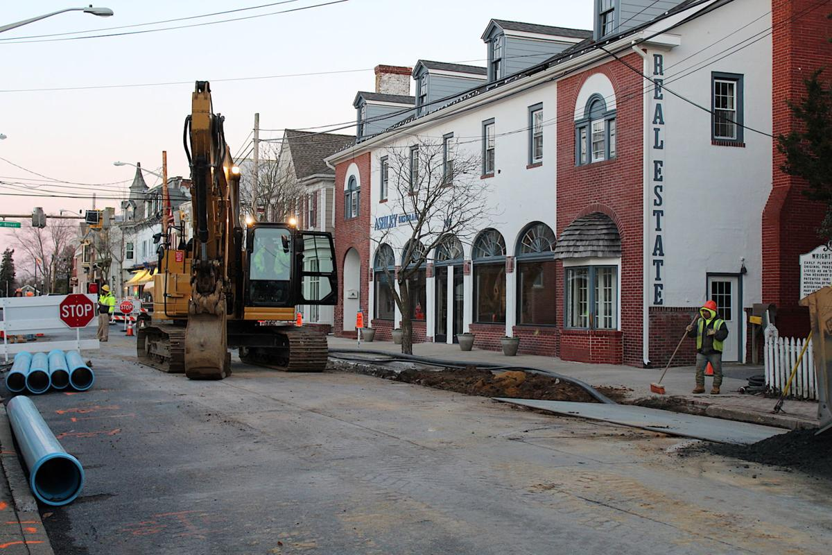 Centreville Sewer and Water Project