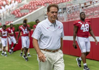 Alabama Football Fan Day