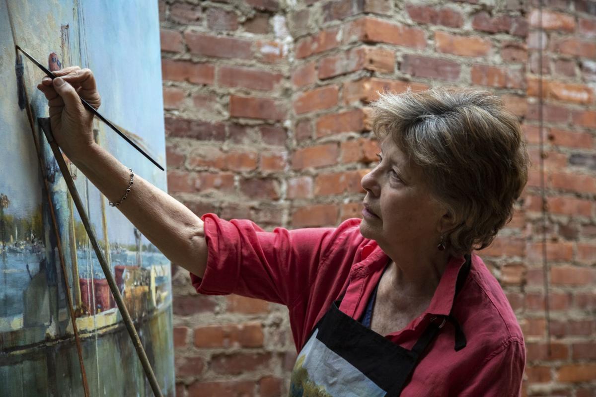 Nancy Tankersley waterfowl painting