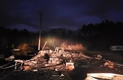 Fire destroys garage