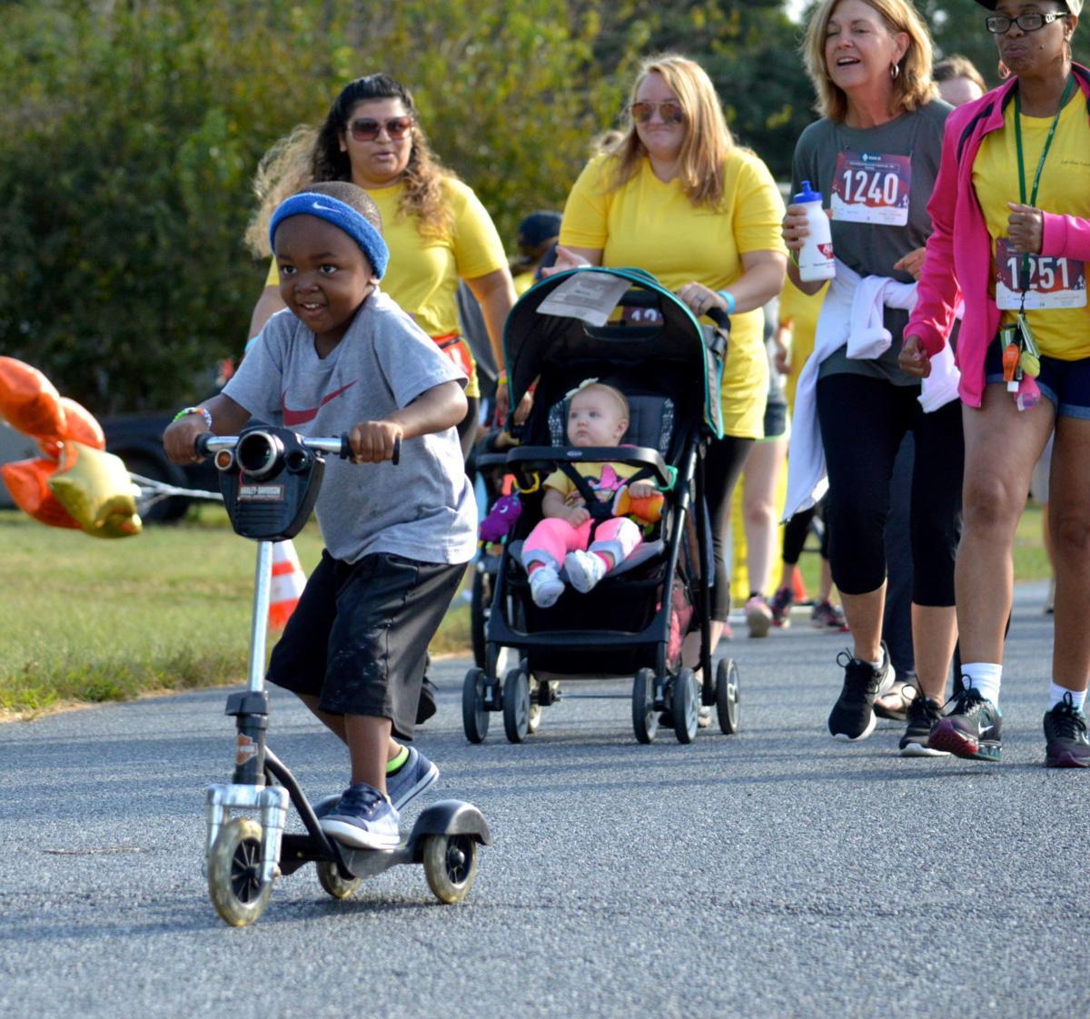 Caroline Center Run, Ramble + Roll 5K
