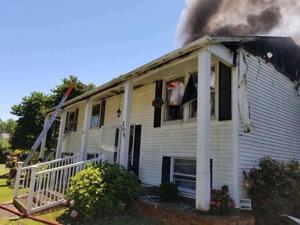 Fire destroys Stevensville home