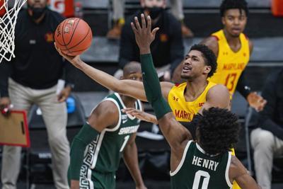B10 Michigan St Maryland Basketball