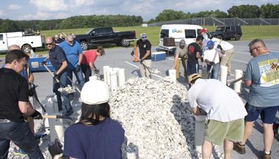 Perdue volunteers, Oyster Recovery Partnership fill shell bags to help restore Bay's oyster population