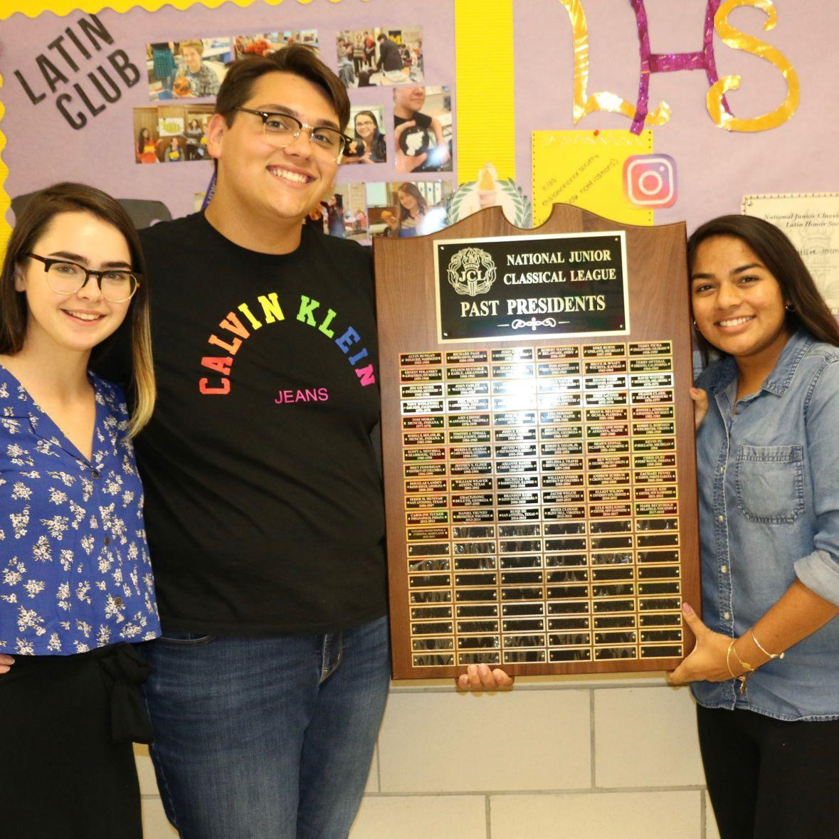 EHS student elected president of National Junior Classical League