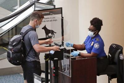 Virus Outbreak Florida Airport