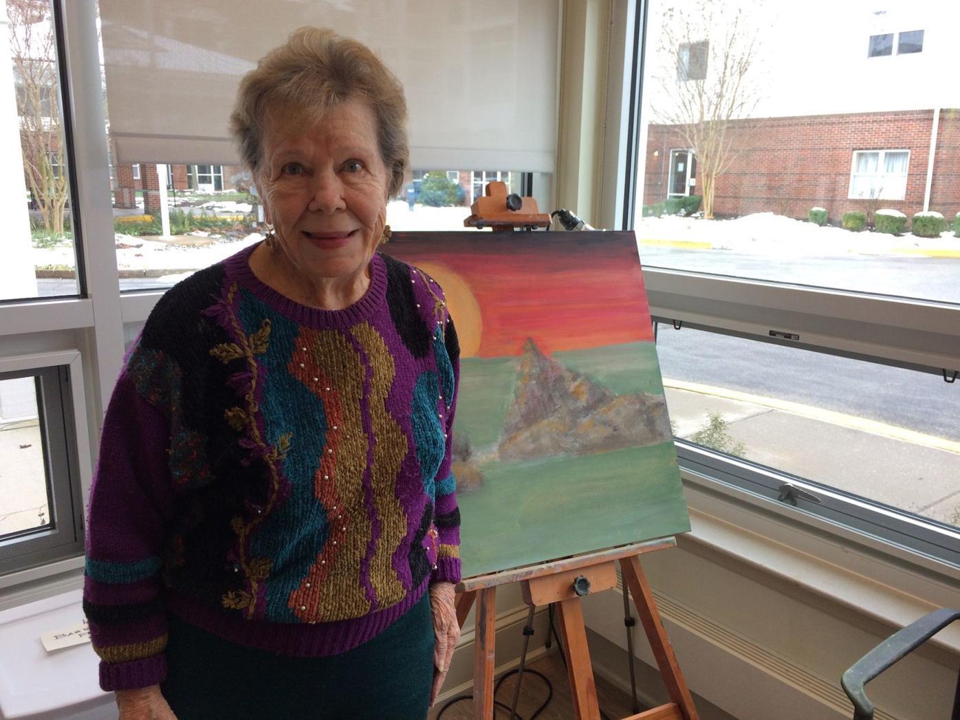 Updated art studio opens at Heron Point