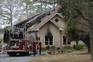 Garage fire shuts down Beverly Road in St. Michaels
