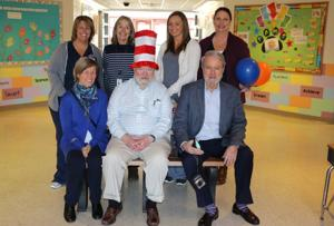 Retired pediatrician honored with 'Buddy Bench'