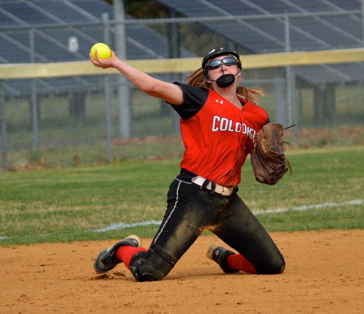High School Softball: Easton at Colonel Richardson