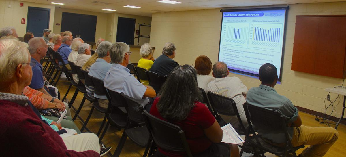 Easton residents weigh in on Bay Crossing Study