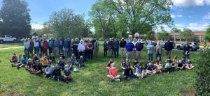 Planting trees in Centreville